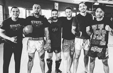 Stefan and others who train in Muay Thai